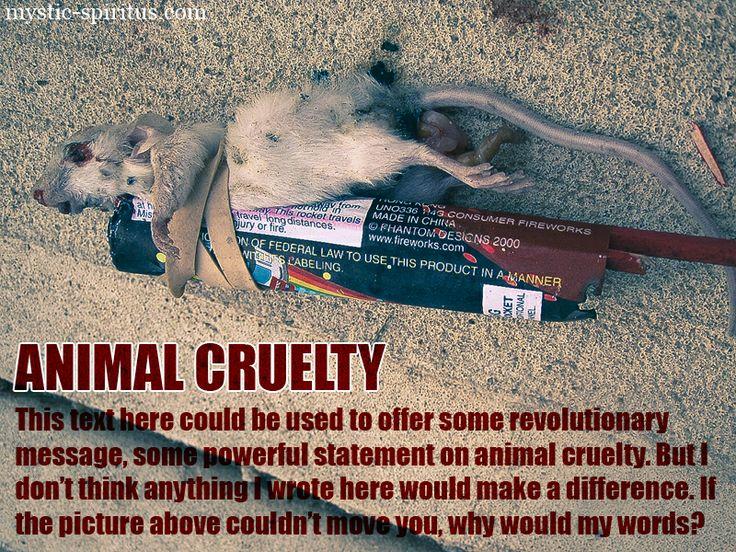 Stop Animal Cruelty Quotes Quotesgram