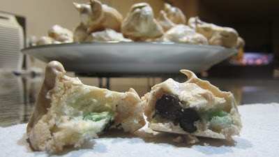 Mint Chocolate Chip Clouds! | Mary's Kitchen Diaries | Pinterest
