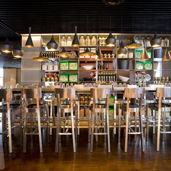 Kitchen De New Of De Bijenkorf Amsterdam Restaurant Image