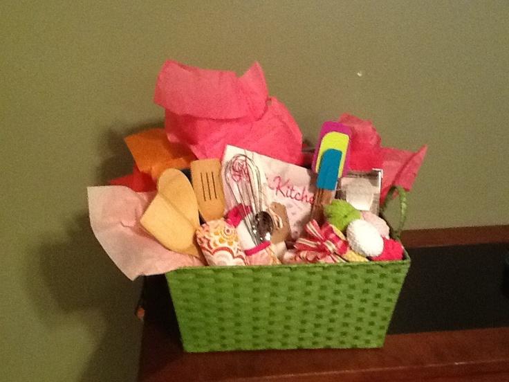 Wedding Kitchen Gift Basket : Kitchen theme wedding gift basket gifts Pinterest