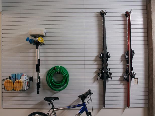 Storing Sports Gear in the Garage