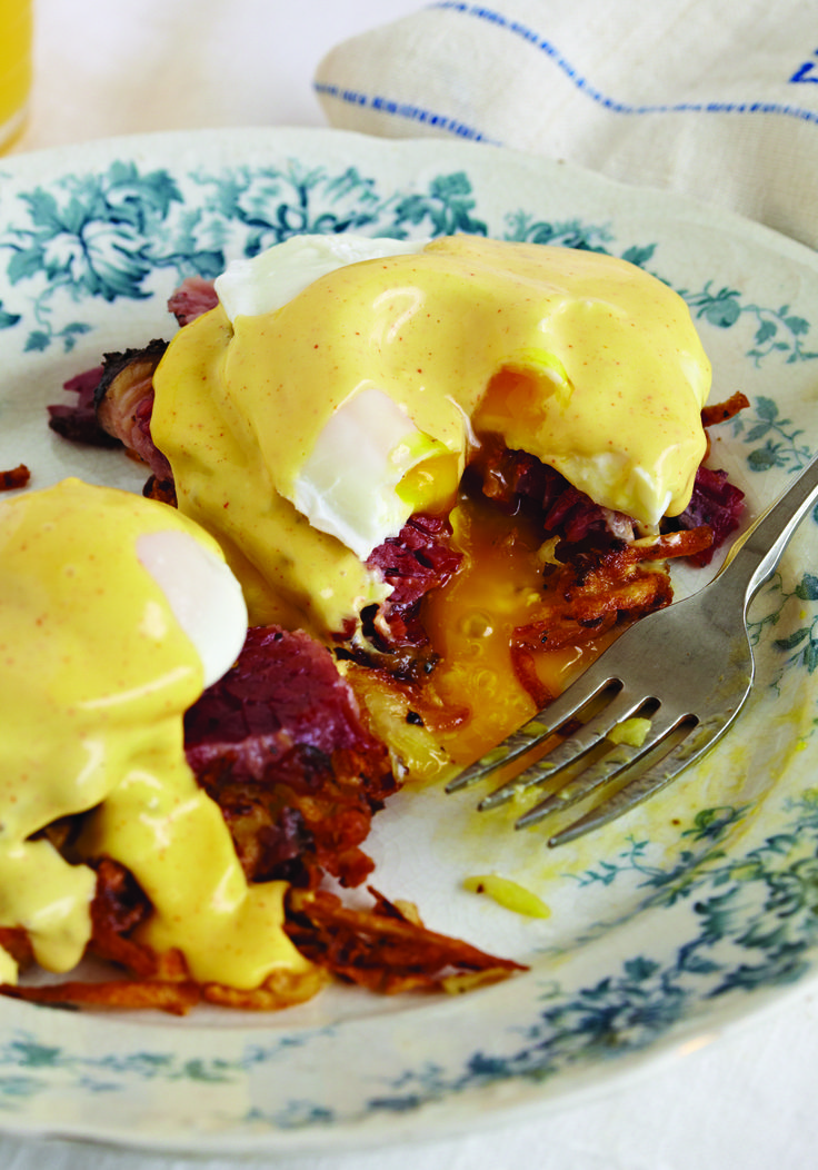 Weekend brunch: Pastrami Benedict #recipe