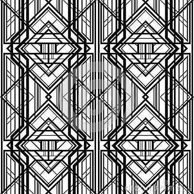 art deco geometric pattern | Coloring pages | Pinterest