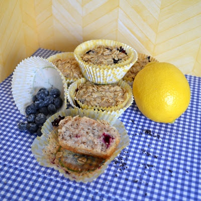 Vegan Lemon Blueberry Poppy Seed Muffins | Young Idealistic Baker Blo ...