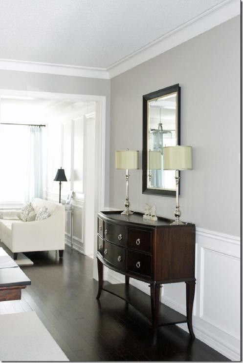 A soft greenish gray, Revere Pewter works well in any room of the home