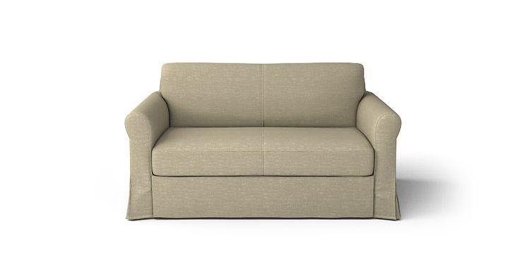 Hagalund 2 Seater Sofa Bed Slipcover Comfort Works Custom Slipcovers