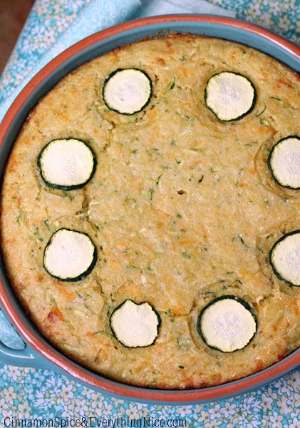 Cheddar Zucchini Cornbread | Recipe