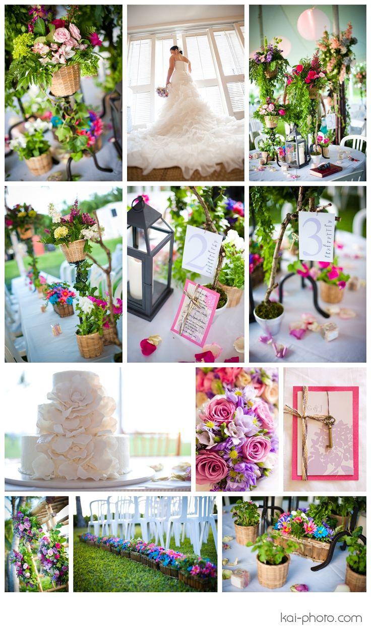 Secret garden themed wedding wedding decor inspirations for Garden wedding theme ideas