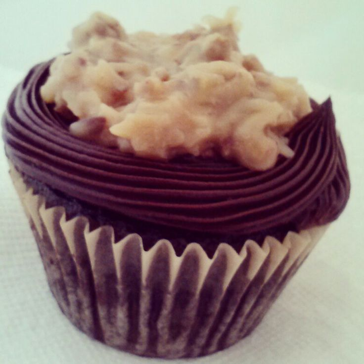 German chocolate cupcake | Cupcakes ^_^ | Pinterest