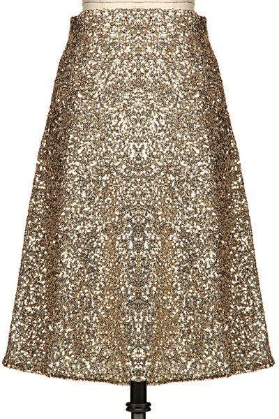 Sparkling A line midi skirt