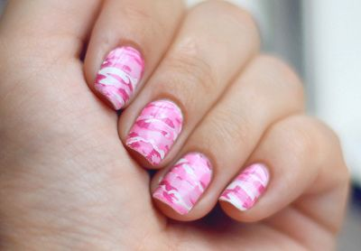 Nail Art Pink Camo The Best Inspiration For Design And Color Of