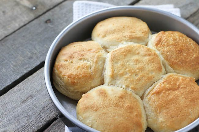 Flaky Buttermilk Biscuits - FoodBabbles.com