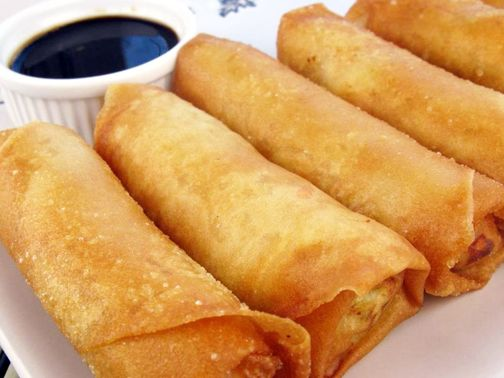 Chinese Egg Rolls | Yummy food | Pinterest