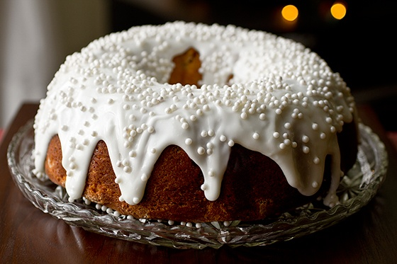 Cherry-Almond Winter Cake For Christmas | the most wonderful time of ...