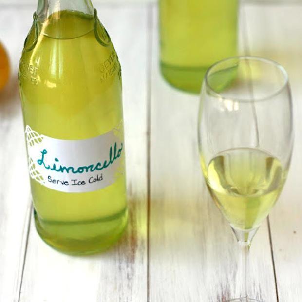 Homemade Limoncello | Cocktails | Pinterest