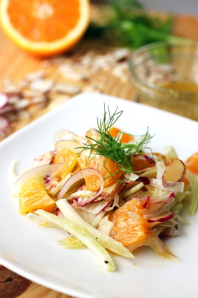 Fennel and Orange Salad | Recipe
