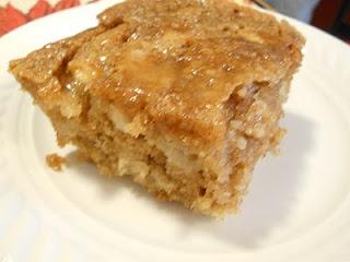 Caramel Glazed Apple Cake | BAKING | Pinterest