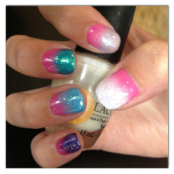 Shellac ombré nails | Mirror mirror - nails | Pinterest