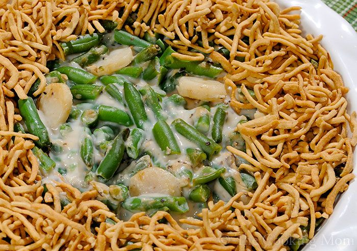 water chestnuts i love green bean casserole and the water chestnuts ...