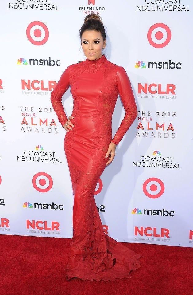 Eva Longoria in red le... Eva Longoria