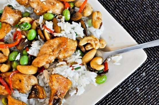 CHICKEN WITH CASHEWS | recipes to screw up | Pinterest