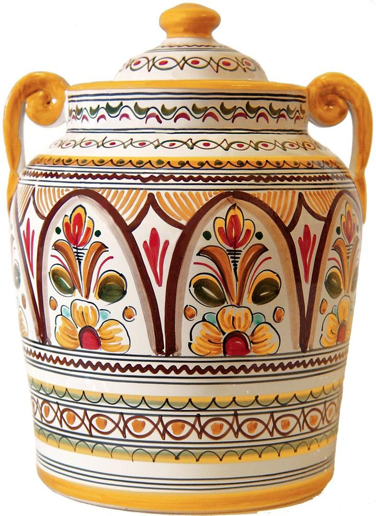 Spanish Ceramic Cookie Jar The Cookie Jar Pinterest