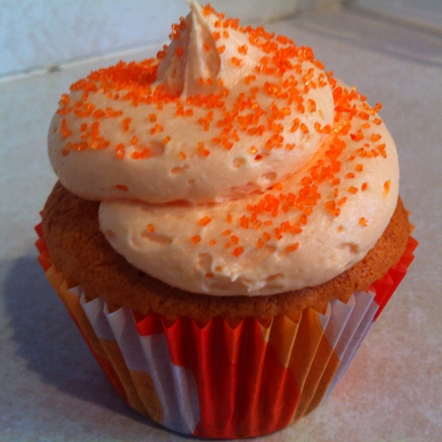 Orange Cream Cupcake | Crazy Lady Cupcakes | Pinterest