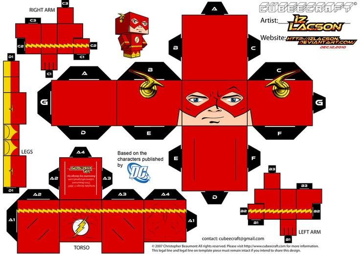 Как из бумаги сделать супергероев