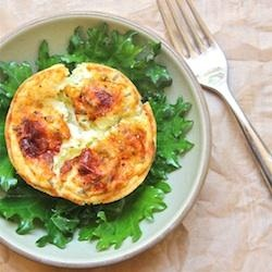 Herbed Goat Cheese Soufflés | Recipe