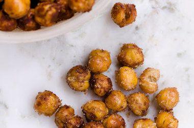 Sweet and Salty Roasted Chickpeas — Punchfork (VEGAN)