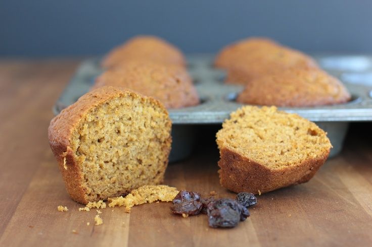 """17 - pumpkin raisin muffins adapted from """"downeast maine pumpkin bread ..."""