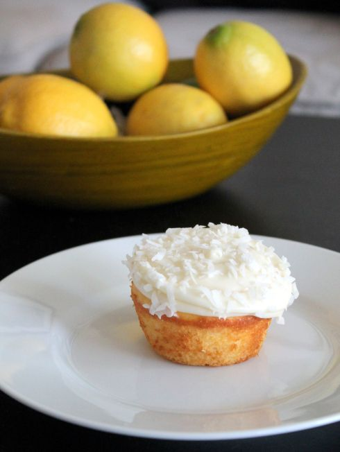 lemon coconut cupcake   CAKES: Coconut   Pinterest