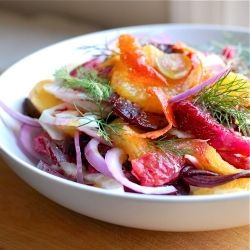Blood orange, fennel, and beet salad - a satisfying and crunchy ...