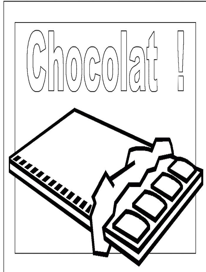 chocolate bar coloring page chocolatebar free coloring pages