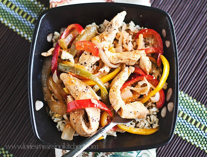 Spicy Thai Chicken and Rice Bowls   Food   Pinterest