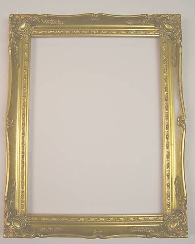 Picture frame ornate bright gold 16x20 16 x 20 678g for 16x20 frame