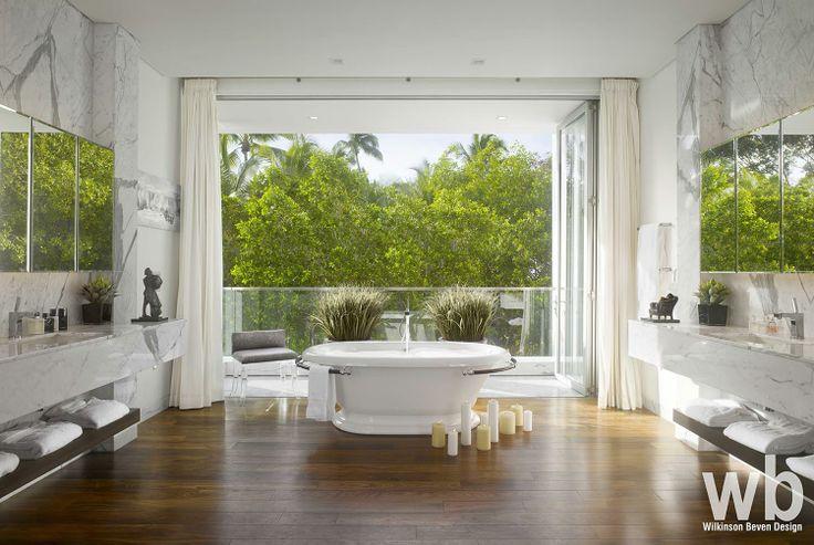 Pin by wilkinson beven design on caribbean residence for Caribbean bathroom design ideas