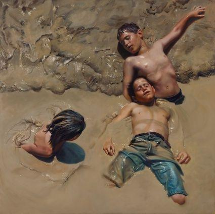 Teresa Elliott. This is a painting.