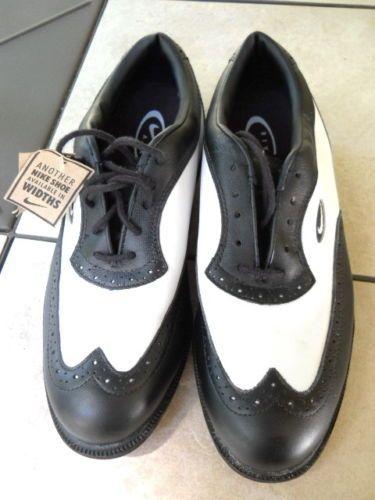 New Nike Air Golf Shoes 7 5 Wickie Last Black White | eBay