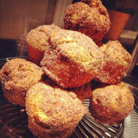 Pumpkin Doughnut Muffins (Martha Stewart). Photo by MamaD1224
