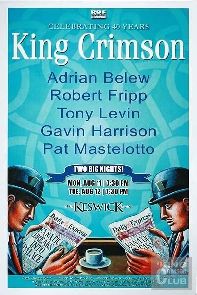 King crimson august 11 2008 king crimson pinterest
