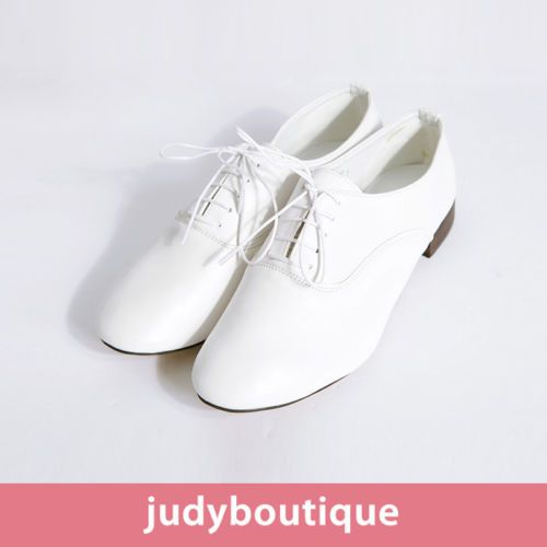 jb womens plat shoes classical white oxford shoes