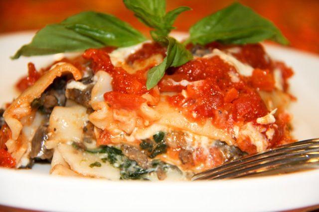 Crock Pot Veggie Lasagna | Vegetarian Recipes | Pinterest