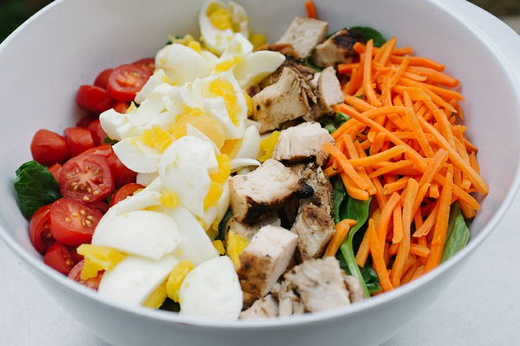 Quick and easy cobb salad