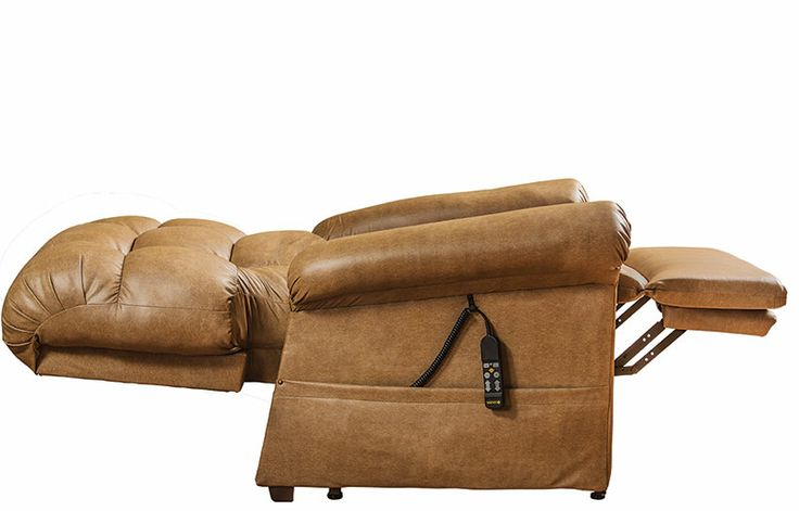 """The Perfect Sleep Chair even goes into the """"bed"""" position"""