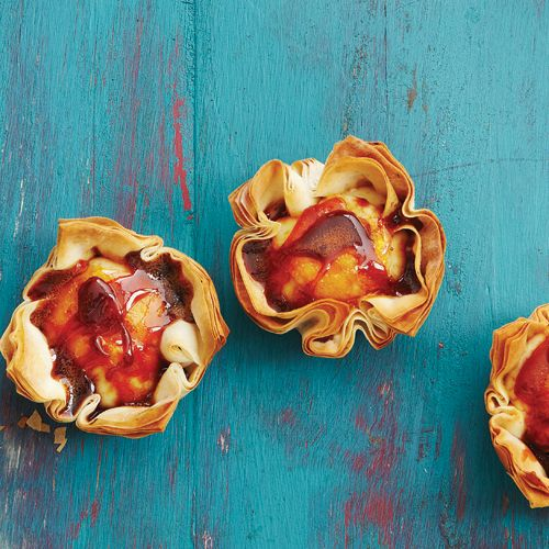 Our take on Caramel Custard Tarts, irresistible and oh so pop-able ...