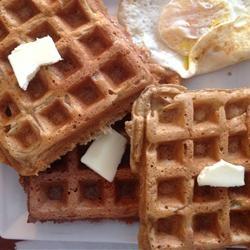 Cinnamon Belgian Waffles   Recipe