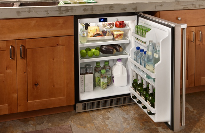 MARVEL Professional Undercounter Refrigerator (MPRO6ARM) - inside view