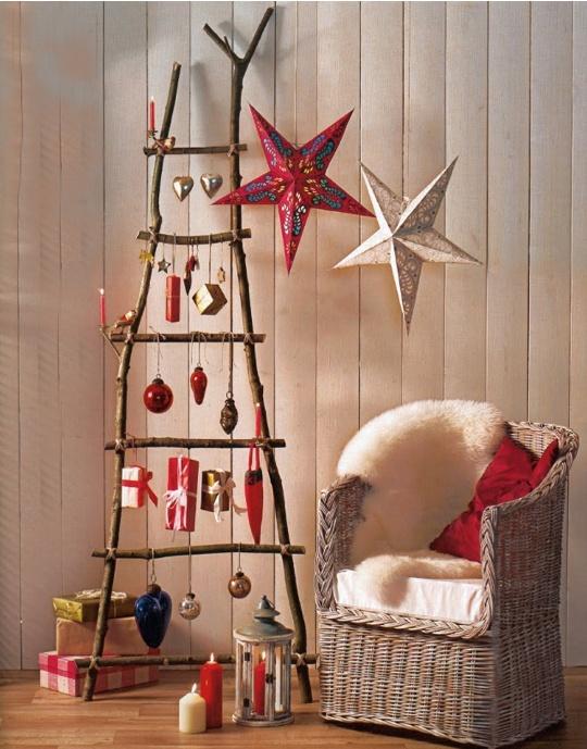 Ladder Christmas Tree | Christmas ideas | Pinterest
