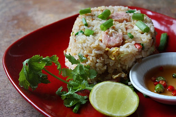 Thai-Style Fried Rice with Soured Pork | Yummy Food | Pinterest